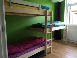 bunk beds for low ceilings.  Low Triple Bunk Bed In Room With Low Ceiling Three Frames And Four Legs  Architect Torben Kjr In Bunk Beds For Low Ceilings I
