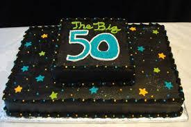 9 Simple Birthday Cakes For Men 50 Years Photo Happy 50th Birthday
