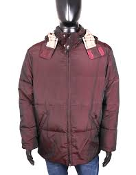 Details About Burberry Mens Jacket Warmed Hood Brown Size 46