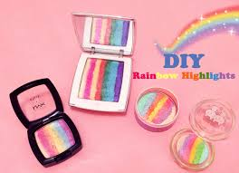 i gave it a try and since experimenting was fun and customizing is my cup of tea i ended up doing four diffe highlighters