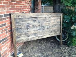 rustic wood headboard king fancy reclaimed wood headboard king with white rustic reclaimed look king headboard projects