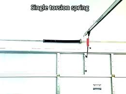 garage door extension spring replacement installing garage door springs replace garage door extension spring garage door