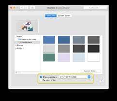wallpaper keep changing on my Mac ...