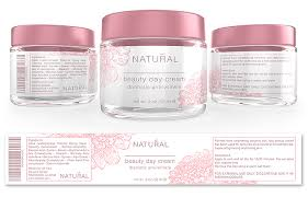 Beauty Facial Cream Label Template Getty Layouts