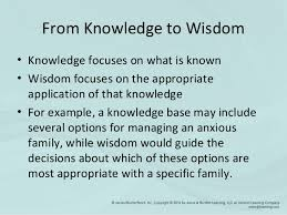 chapter  wisdom accuracy of the synthesis of information and appropriate selection of interventions 9