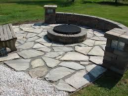 image of flagstone patio diy