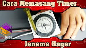🛑cara memasang timer jenama hager youtube Schematic Diagram at Hager Eh 111 Wiring Diagram