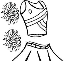 Free Cheerleader Coloring Pages Printable For Kids Animals