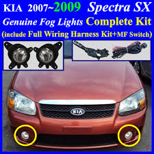fog lamp wiring harness for hyundai kia vehicle multi function switch genuine parts include fog light switch pre installed fog light connector one pair lh rh user s instruction and wiring diagram