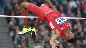 Someone who competes in the high jump. Olympic High Jumper Paralyzed After Backflip Mishap