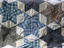 men's shirt quilt | Nero's Post II (2013-2015) & men's shirt quilt Adamdwight.com