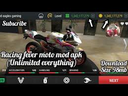 racing fever moto mod apk unlimited