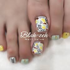 Blah Zeh Nail Salonschool On Twitter アフリカン柄夏ジェル