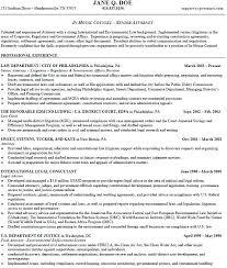 Attorney Resume Examples Attorney Sample Resume Sample Associate