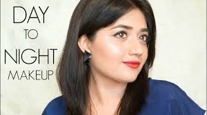 day to night makeup tutorial for indian skin clista