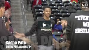 SI Prospect Spotlight: Pinkston 2024 G Sasha Pate on Vimeo
