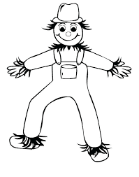 scarecrow coloring sheets printable scarecrow coloring sheet approved page free