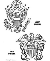 Small Picture Patriotic Symbols Marine Insigne drawing to print and color