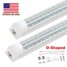 6 Ft Fluorescent Light Fixture Integrated T8 Fluorescent Lamp 4ft 5ft 6ft 8ft 8 Feet Led Tube Light V Shape Led Light Fixtures 4 Rows Ac85 277v T12 Fluorescent Tubes Cool Tubes From
