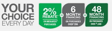 Credit Programs at Menards