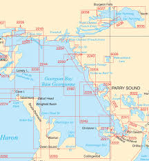 Ocean Charts Bc Georgian Bay Paper Charts