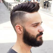 Mens Comb Over Hairstyle Hairstyle For Men To The Back Side 2017 The Best Men Comb Over