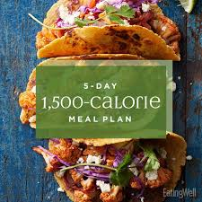 5 day 1 500 calorie t meal plan