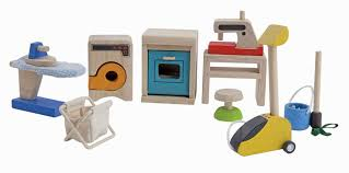 plan toys dollhouse furniture household accessories 9710