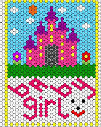 38 best Design (Hexagon Quilt and Patchwork) images on Pinterest ... & The castle is a cute idea Adamdwight.com