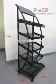 Apparel Display Stands Custom commercial Wire display shelving square dump bins for 68