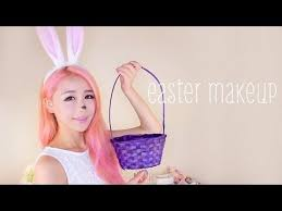 easter bunny makeup tutorial the wonderful world of wengie