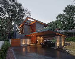 Modern Carport Ideas Garage Modern With Mid Century