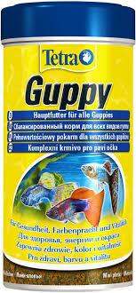 <b>Корм</b> для рыб <b>TETRA Guppy</b> в хлопьях д/гуппи – купить в сети ...