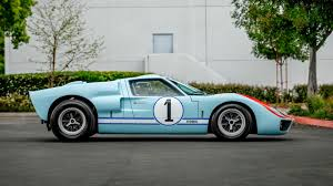 The ford mark iv race car, driven by dan gurney and aj foyt, was built to win the world's most important sports car race, the 24 hours of le mans. Gt40 Starring In Ford V Ferrari Can Get From Hollywood To Your Driveway Carscoops