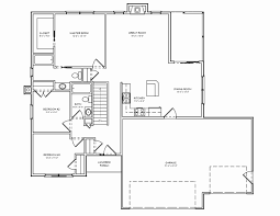 ... Small 3 Bedroom House Plans Inspirational House Plan Floor Plans for  Ranch Homes Bedrooms Mansfield by ...