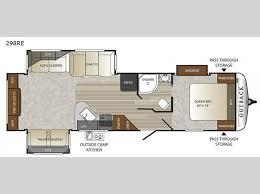 travel trailer floor plans. Outback 298RE Travel Trailer Floor Plans