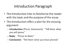 Argumentative Essay Introduction Paragraph The Best Way To Create