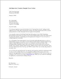 Perfect Job Interview Resume Cover Letter 374728 Resume Ideas