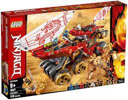 LEGO Ninjago 70677 pas cher, Le Q.G des ninjas