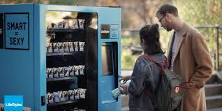 Youtube Vending Machine Enchanting LifeStyles Sets Up Condom Vending Machine At SFSU To Raise Awareness