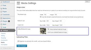 Default featured image – WordPress plugin   WordPress.org