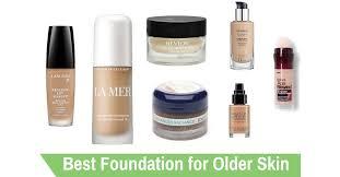 best foundation for older skin of 2019