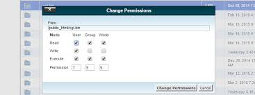 understanding file permissions and
