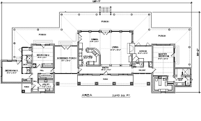 Ranch Style House Plan - 3 Beds 2.50 Baths 2693 Sq/Ft #140  Plans