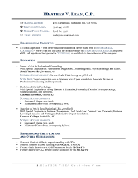 Resume Opening Statement Examples Best Of Resume For Career Change