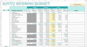 Wedding Budget Template Free Australia Sample Spreadsheet