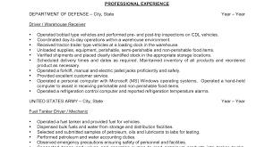 General Warehouse Worker Resume Certificate In Word Samples Of