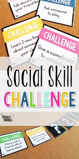 best ideas about social skills activities social skills challenge