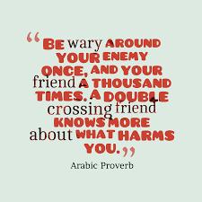 Arabic Wisdom About Enemy