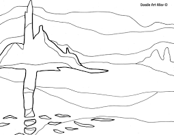 Famous Art Work Coloring Pages - Classroom Doodles